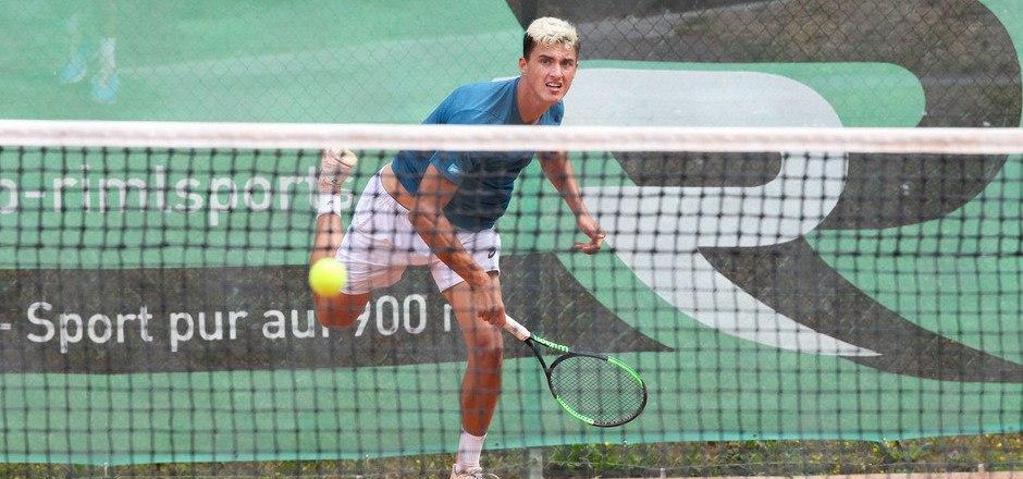 Die Formkurve des Kufsteiners Alexander Erler zeigt weiter nach oben. Heute wartet auf das Tiroler Tennis-Ass die Nummer zwei des Turniers.