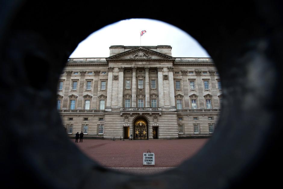 Der Buckingham Palace in London.