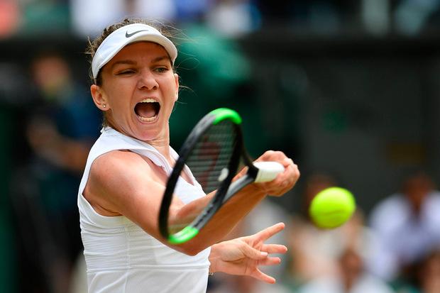 Souverän im Endspiel: Simona Halep hat die Chance auf ihren zweiten Grand-Slam-Titel.