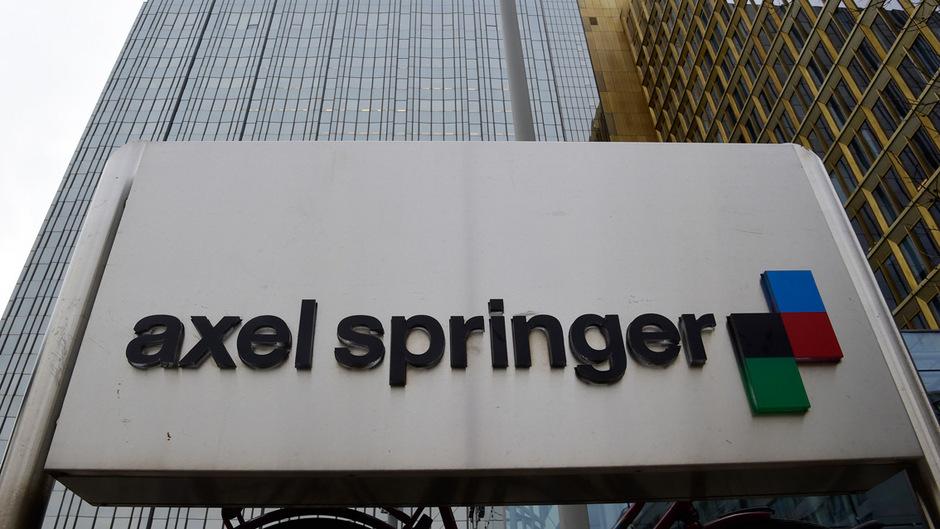 Das Hauptquartier der Axel Springer AG in Berlin.