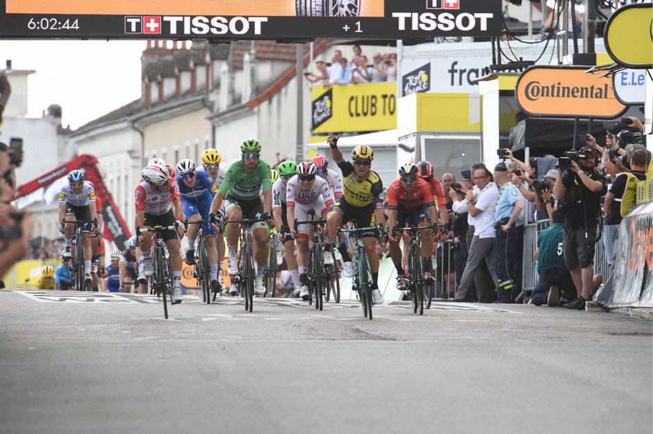 Die siebte Etappe gewann der Niederländer Dylan Groenewegen.