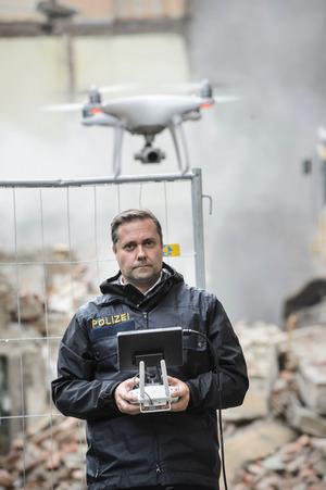 """Die Fluggeräte finden bei Suchaktionen, aber auch als """"Kundschafter"""" vor Festnahmen Verwendung."""