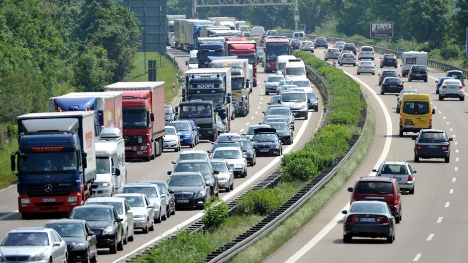 Stau Salzburger Autobahn