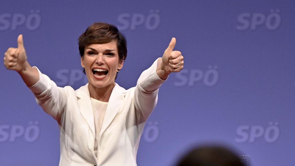 SPÖ-Chefin Pamela Rendi-Wagner am Samstag.