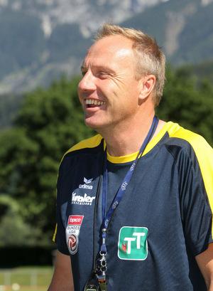 Trainer Silberberger ist optimistisch.
