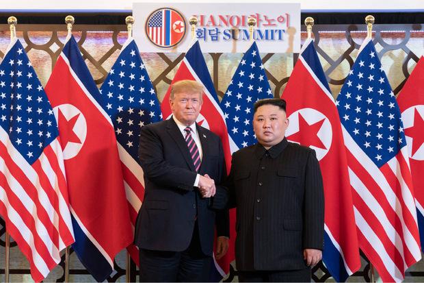 """Für Trump sieht Kim """"sehr gesund"""" aus."""