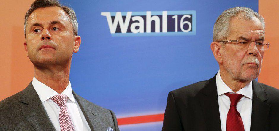 Alexander Van der Bellen (r.) legte seine Gesundheitswerte im Wahlkampf offen. Auch die Behinderung von Norbert Hofer war ein Thema.