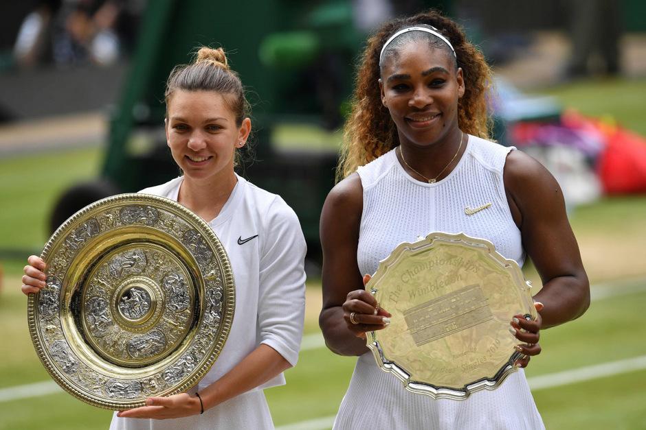 Auf Grand-Slam-Titel Nummer 24 muss Serena Williams weiter warten. In Wimbledon war Simona Halep nicht zu biegen.