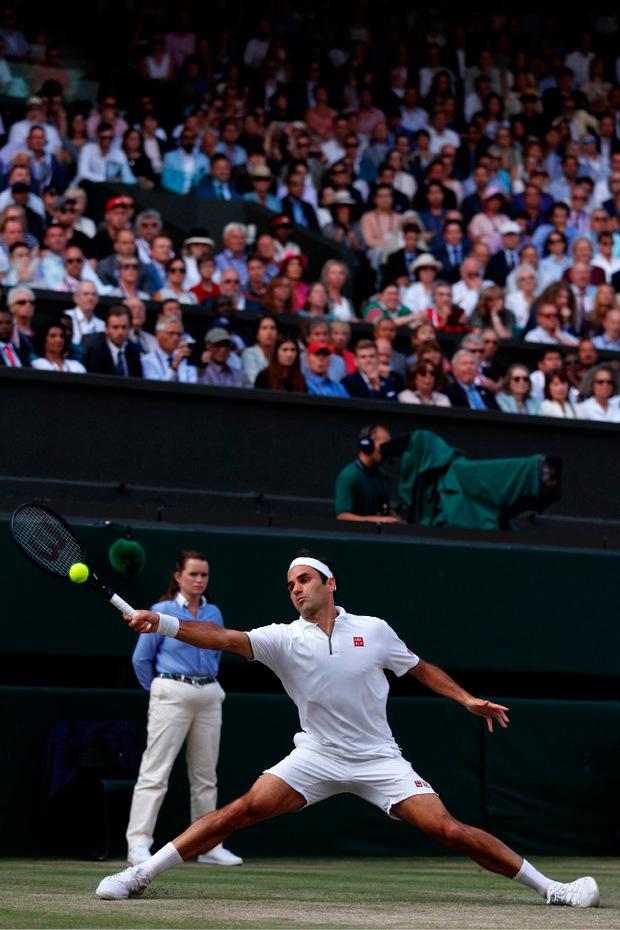 Federer ist es damit auch weiterhin bei keinem Grand-Slam-Turnier gelungen, sowohl Rafael Nadal, als auch Djokovic zu bezwingen.