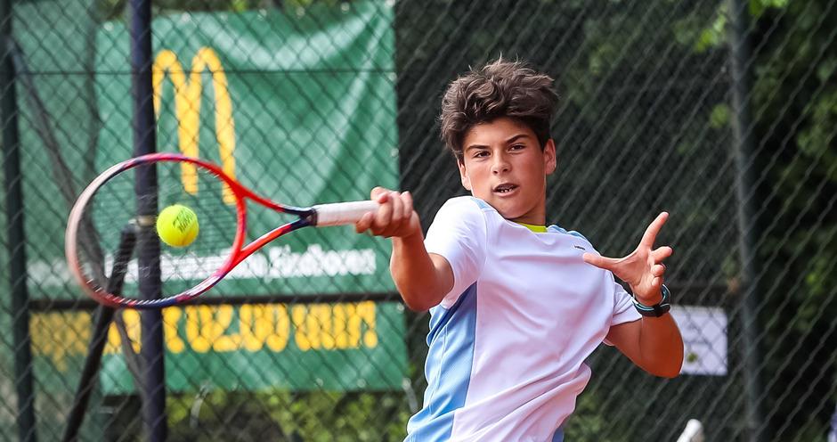 Daniel Zimmermann hat seine Tennis-Zukunft bereits klar vor Augen.