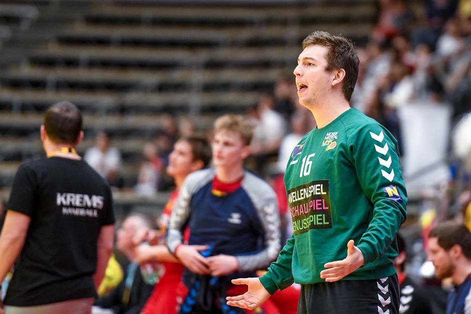 Goalie Florian Deifl kommt von Double-Sieger Krems.