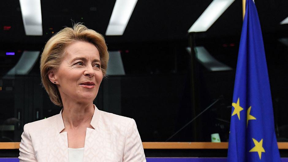 Die designierte EU-Kommissionspräsidentin Ursula von der Leyen.