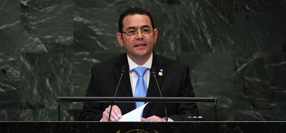 Guatemalas Präsident Jimmy Morales.