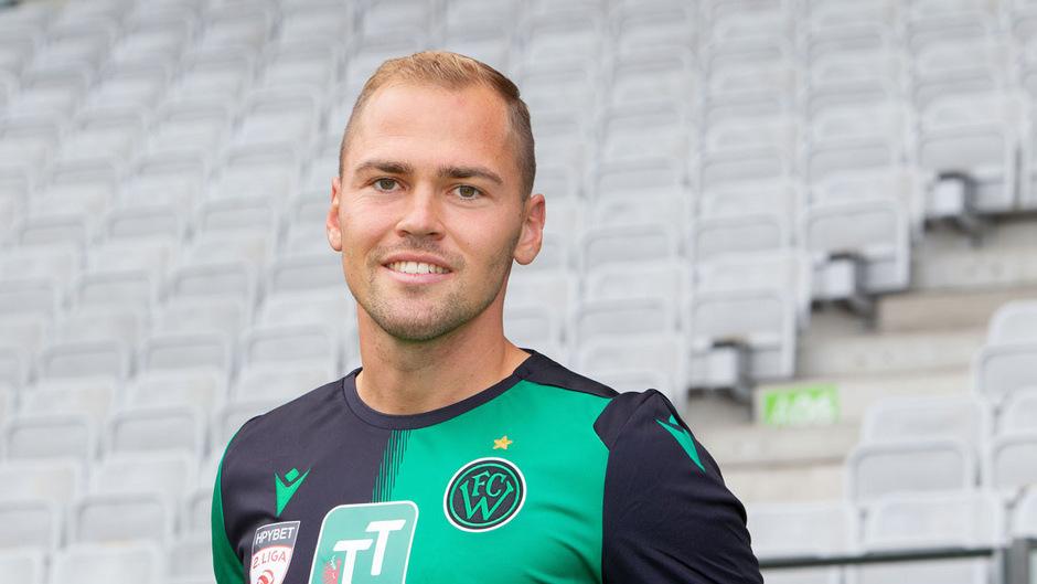 Im Sommer 2011 heuerte Alex Gründler als 18-Jähriger beim FC Wacker an, als mittlerweile 25-Jähriger ist er der Älteste im FCW-Kader.