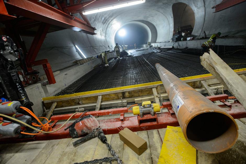 Der derzeit im Bau befindliche Brenner Basistunnel bietet die Chance der praktischen Umsetzung der Stiftungsprofessur.