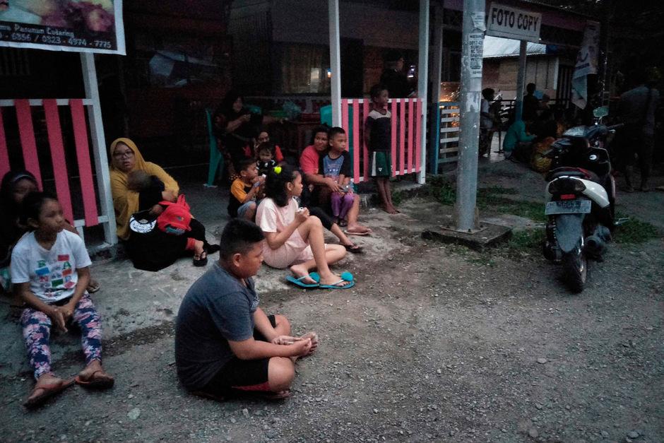 In Indonesien hat in den letzten Tagen mehrfach heftig die Erde gebebt.