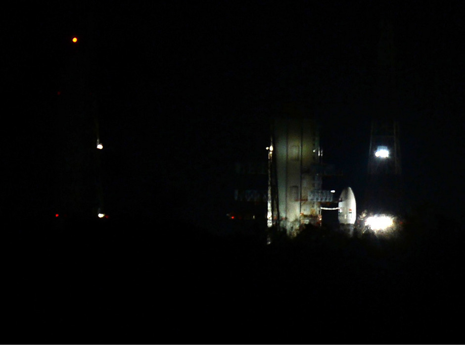 Die Mission Chandrayaan-2 war in der Nacht auf Montag weniger als eine Stunde vor dem geplanten Raketenstart abgebrochen worden.