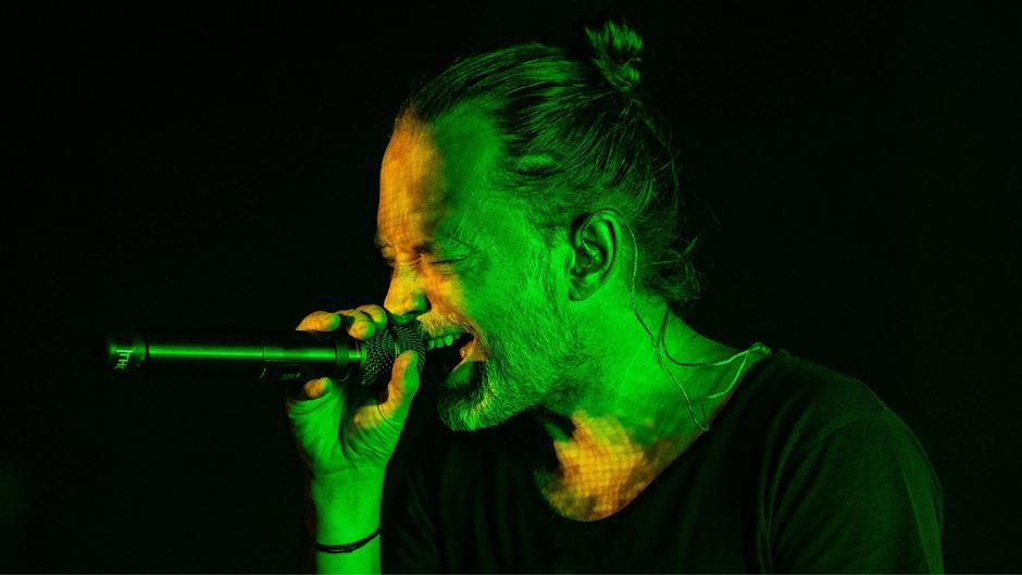 """Thom Yorke live auf seiner aktuellen """"Anima""""-Tour."""