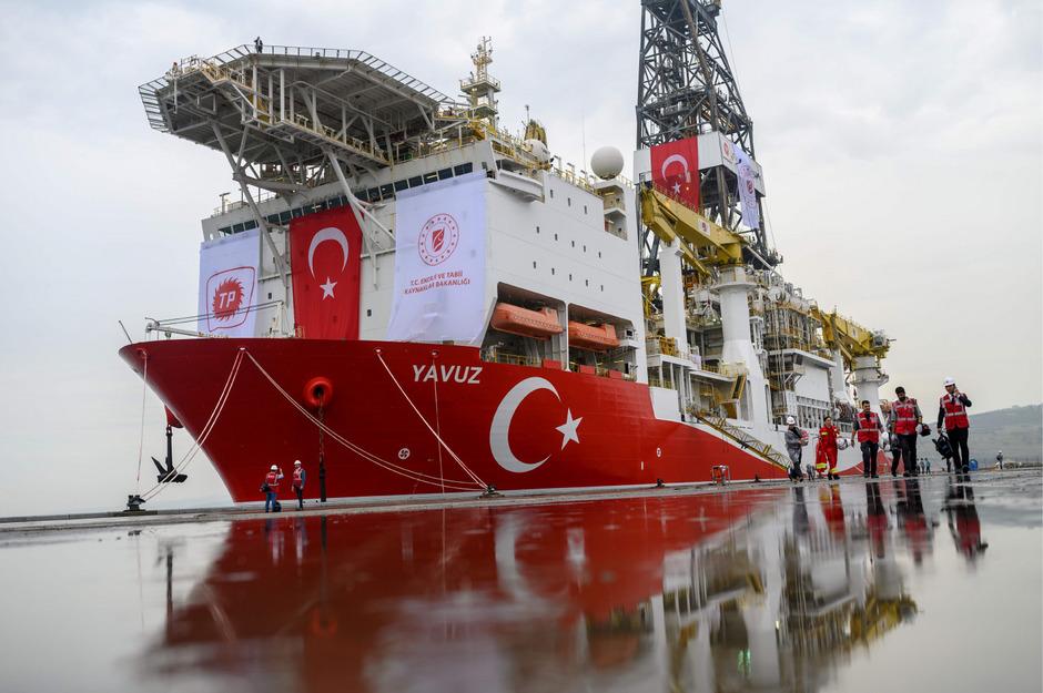 Türkische Schiffe sollen vor Zypern nach Gas suchen.