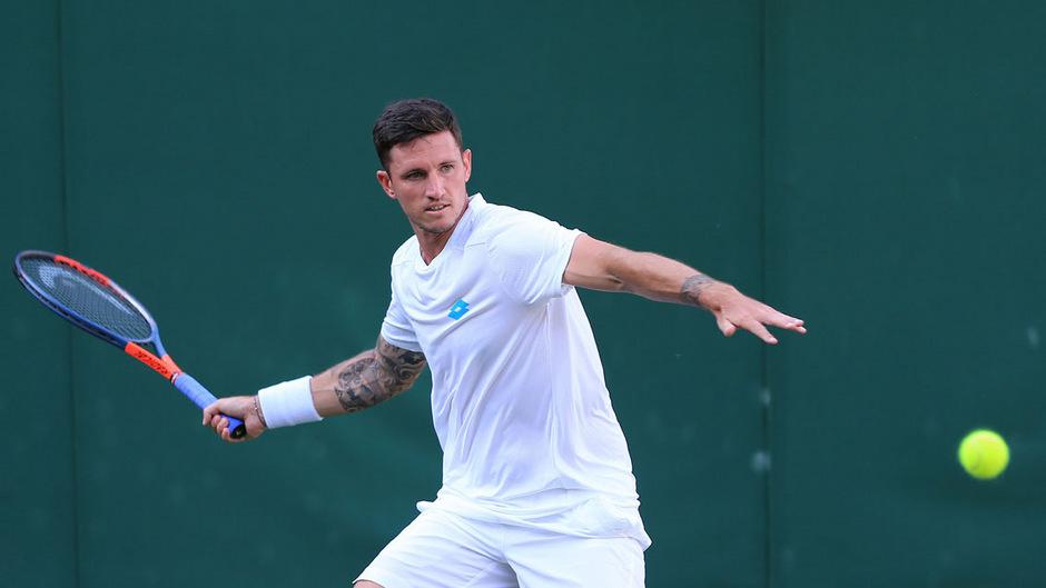 Dennis Novak scheiterte in Wimbledon in der ersten Runde.