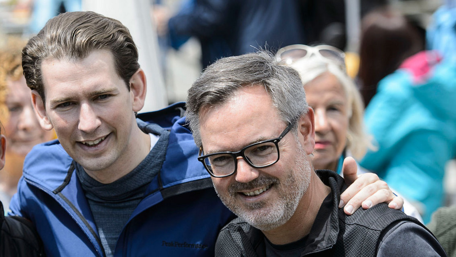 Vor eineinhalb Wochen ging es mit ÖVP-Chef Sebastian Kurz noch bergauf, Dienstagabend verzichtete NR Josef Lettenbichler auf eine Kandidatur. Foto: Böhm