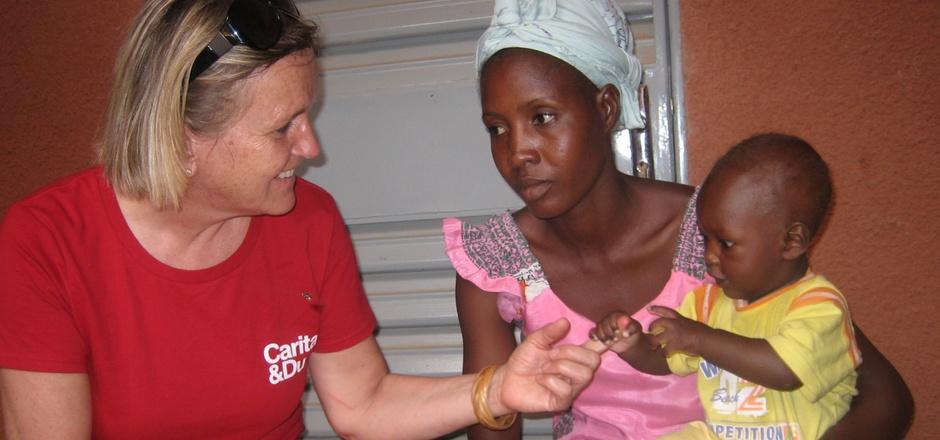 Die Caritas hilft Menschen in Not - in Österreich und im Ausland.