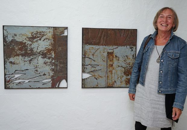 Petra Dorner war eine von 13 Künstlern, die heuer bei den Arlberger Kulturtagen dabei waren.