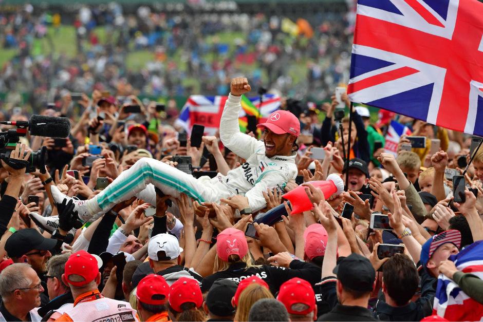 Lewis Hamilton feierte seinen 80. Karrieresieg am Wochenende in Silverstone.