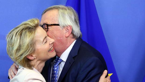 Ursula von der Leyen wird Nachfolgerin von Jean-Claude Juncker (Archivfoto).