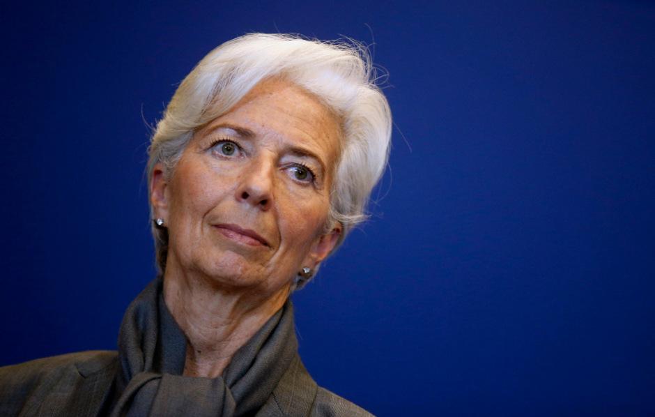IWF-Direktorin Christine Lagarde.