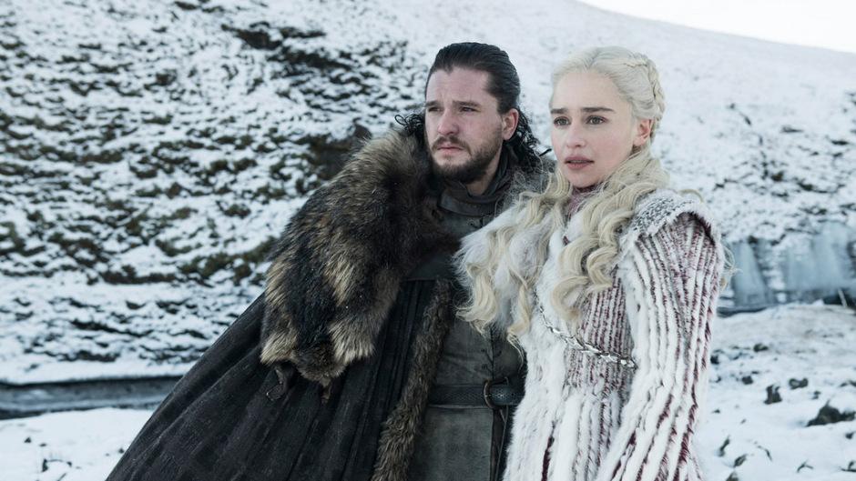 Jon Snow und Daenerys Targaryen sind zwei der Hauptprotagonisten von Game of Thrones.