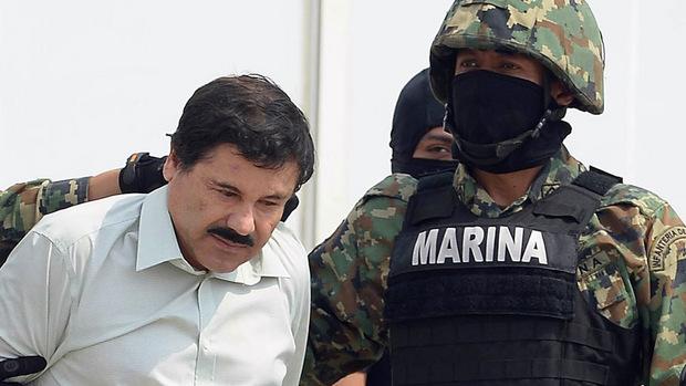 """Joaquín """"El Chapo"""" Guzmán war in Mexiko verhaftet und Anfang 2017 an die USA ausgeliefert worden."""