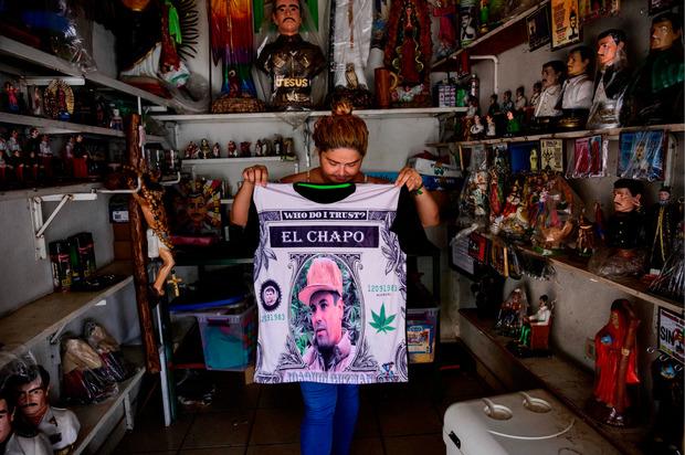 Der Ort Sinaloa hat den berühmten Drogenboss längst als lukrative Einnahmequelle entdeckt.