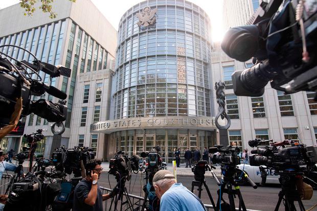 Große Medienpräsenz am Mittwoch vor dem Gericht.