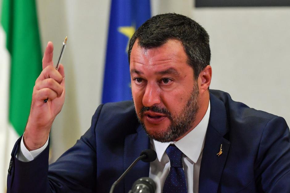 Lega-Chef Salvini bestreitet die Vorwürfe.