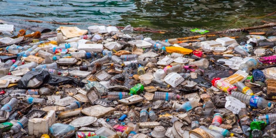 Plastikmüll in Kambodscha.