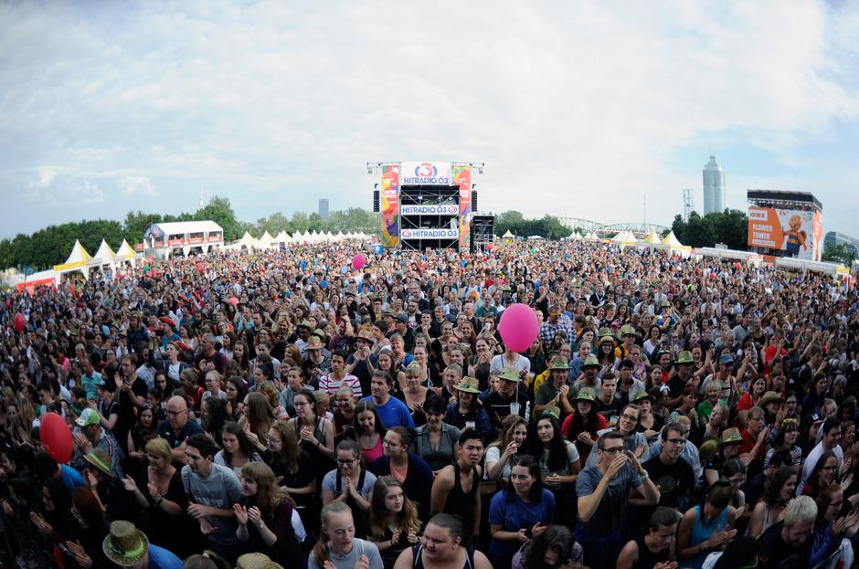 Millionen Zuseher besuchten das 36. Donauinselfest in Wien.