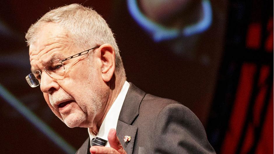 Bundespräsident Alexander Van der Bellen sprach zur Eröffnung der Bregenzer Festspiele über politische Macht und den Klimawandel.