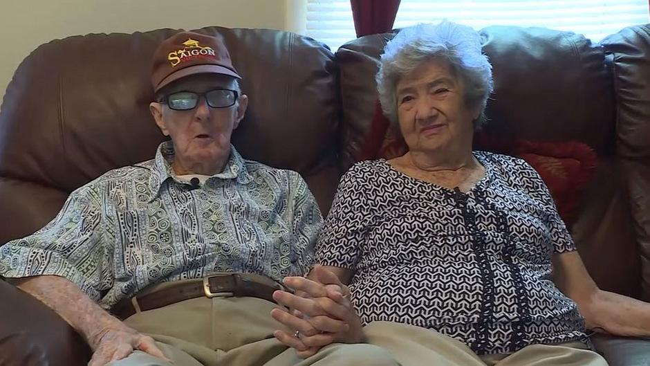 Herbert und Frances Delaigle starben im Abstand von zwölf Stunden nach mehr als 71 Ehejahren.
