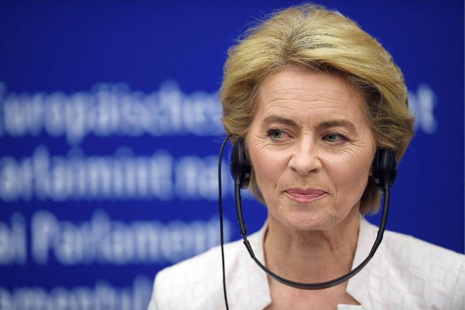 Die frisch gewählte Präsidentin der EU-Kommission Ursula Von der Leyen.