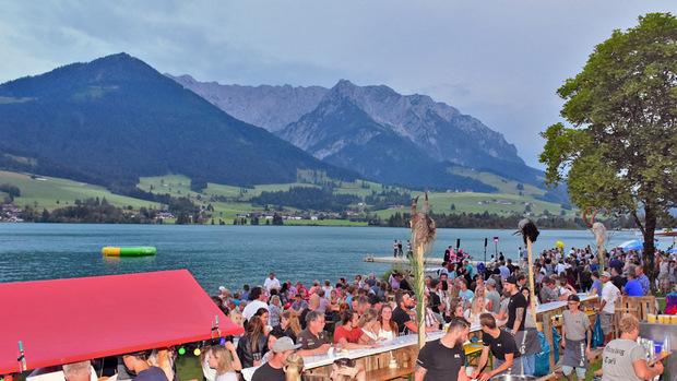 Das Seefest am Walchsee findet auch dieses Jahr wieder vor einer besonders schönen Kulisse statt.