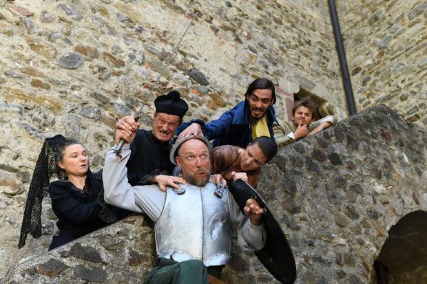 Die Abenteuer von Don Quijote gibt es dieses Jahr bei den Schlossfestspielen Dorf Tirol zu bestaunen.