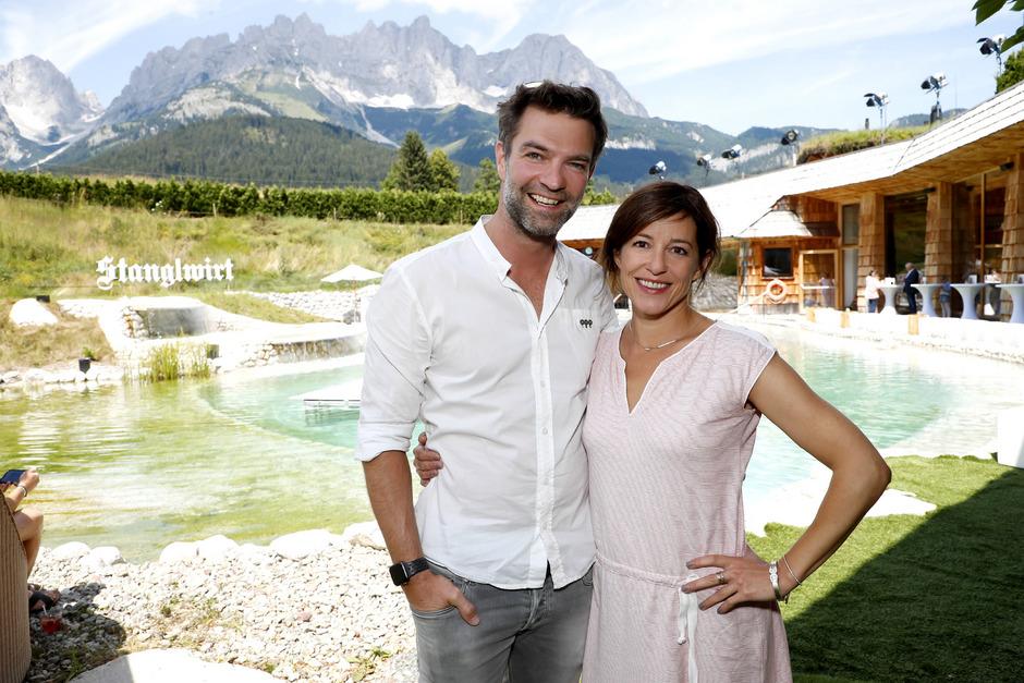 Die beiden SOKO-Kitzbühel-Kommissare Jakob Seeböck und Julia Cencig.