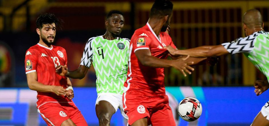 Wilfred Ndidi (Nigeria) im Einsatz.