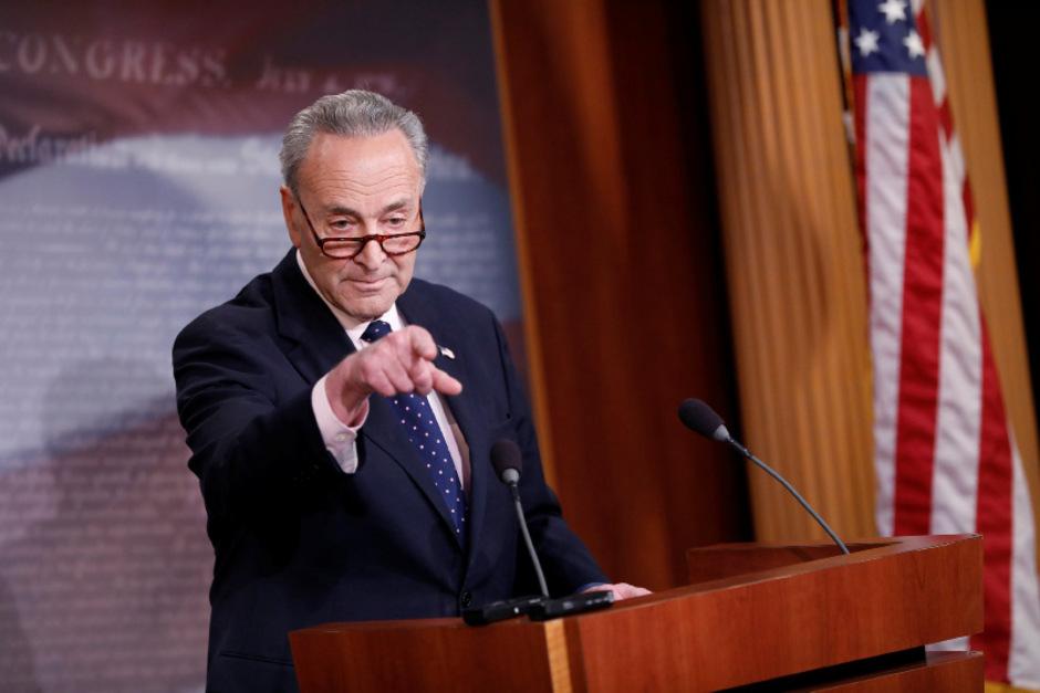 Chuck Schumer, Minderheitsführer der Demokraten im Senat.