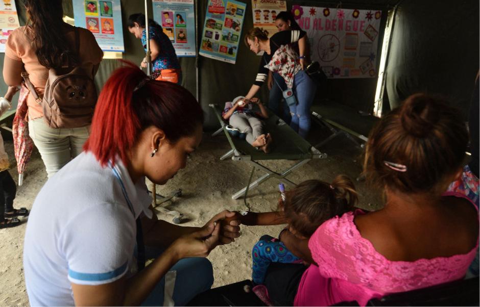 Patienten im Roberto Suazo Cordova Hospital in La Paz.