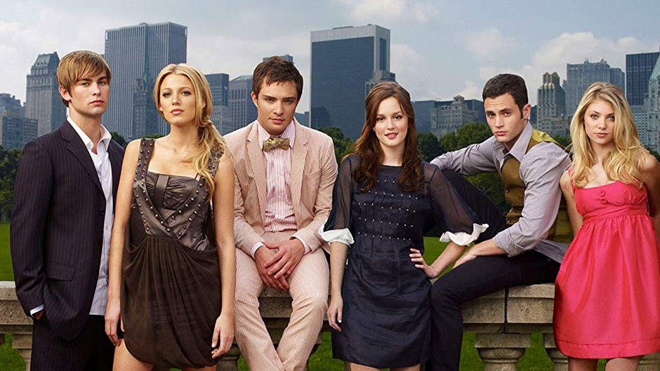 Der Ur-Cast von Gossip Girl: Nate (Chace Crawford), Serena (Blake Lively), Chuck (Ed Westwick), Blair (Leighton Meester), Dan (Penn Badgley) und Jenny (Taylor Momsen) (v.l.).