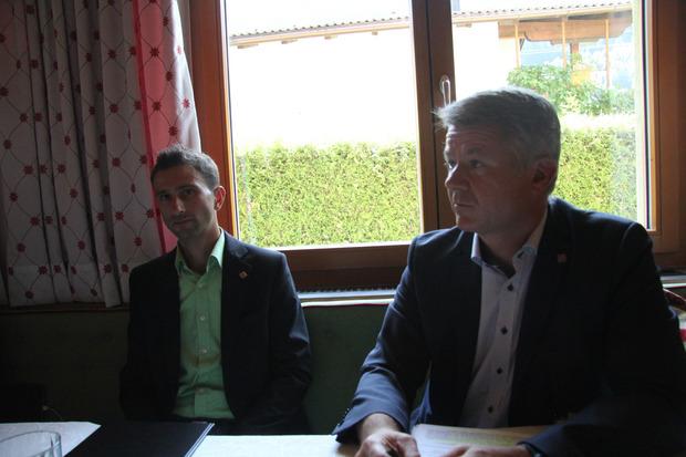 Tinetz-Geschäftsführer Thomas Rieder (r.) und Leiter der Planungsabteilung Philipp Mattle befürchten Einschränkungen.