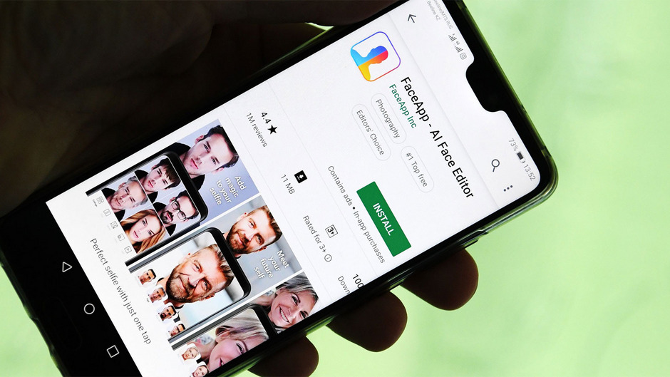 Die Smartphone-App FaceApp hat aktuell Hochkonjunktur.
