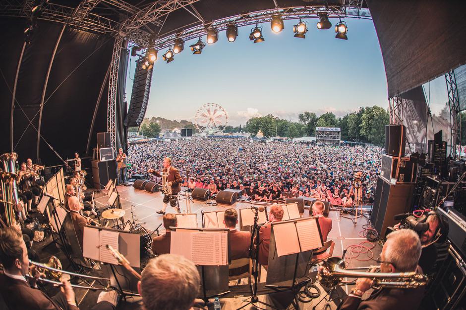 """Seit 2011 gibt es das """"Woodstock der Blasmusik""""-Festival."""